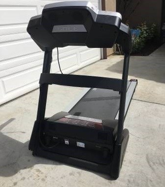 sole f80 treadmill front view